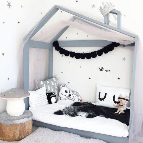 deco kids estilo nordico niños peluches cojines banderolas hecho a mano decoraturutina casa cama