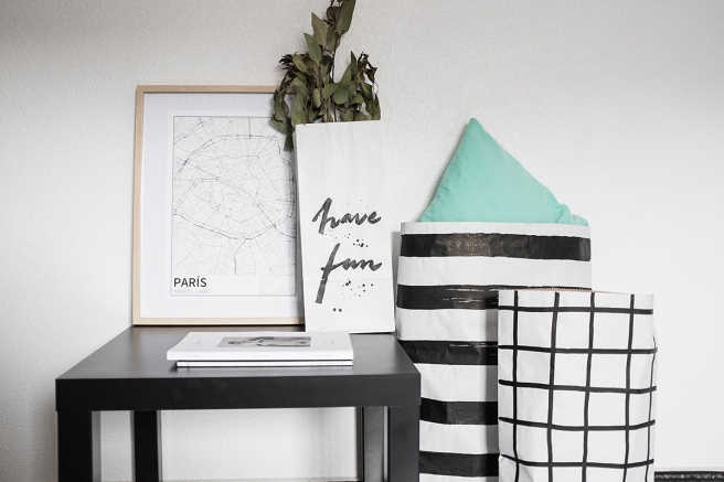 paris mapa diseño estilo nordico blanco y negro lineas simples vias principales laminas decorativa pipolart shop pipol-art