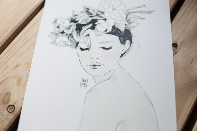 ilustracion cristina gomez fashion illustration pipolart pipol art diana firma