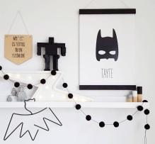 lamina personalizada print descargable a3 para lamina bolso tela o camiseta pipolart ilustracion bat kid superheore