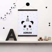 lamina personalizada print descargable a3 para lamina bolso tela o camiseta pipolart ilustracion panda