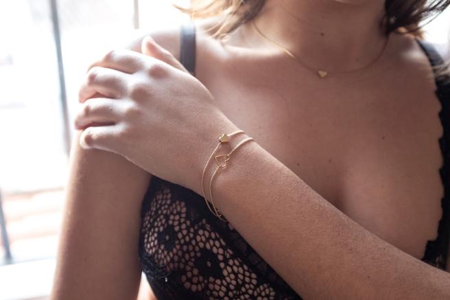 collar gargantilla pulseras corazon oro dorado pipolart.jpg