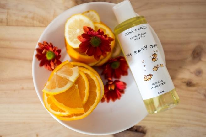 COSMETICA ORGANICA NATURAL aceite multifuncion bio de naranja pipolart pipol art