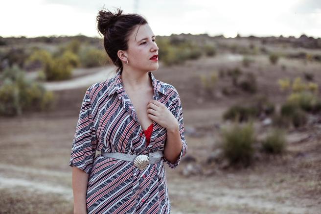 camisa unisex estampado rayas lunares marino nautico hecha a mano retro vintage pipolart