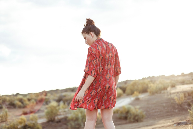camisa unisex tela vintage hecha a mano estampado retro pipolart pipol art